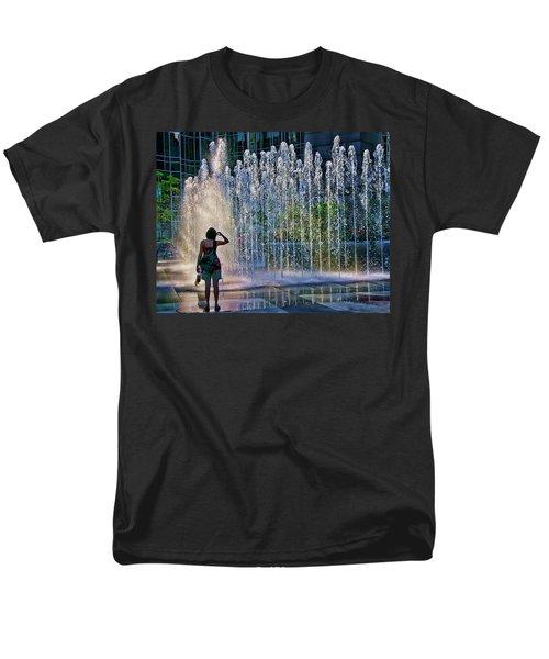 Should I? Men's T-Shirt  (Regular Fit) by Rhonda McDougall