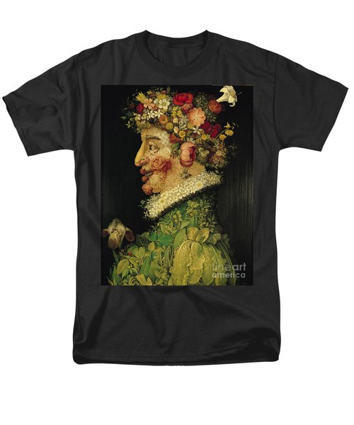 Spring Men's T-Shirt  (Regular Fit) by Giuseppe Arcimboldo