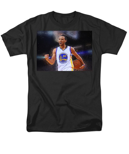 Stephen Curry Men's T-Shirt  (Regular Fit) by Semih Yurdabak