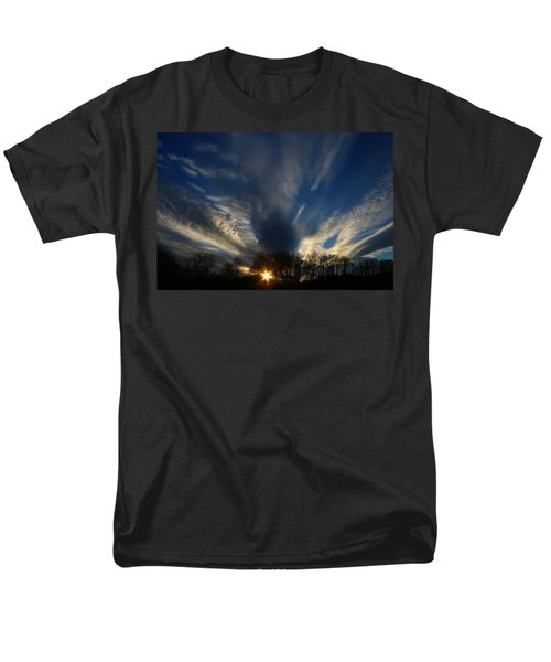 Sundown Skies Men's T-Shirt  (Regular Fit) by Kathryn Meyer