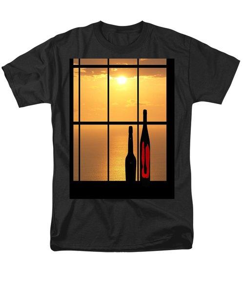 Sunset In Hawaii Men's T-Shirt  (Regular Fit) by Athala Carole Bruckner
