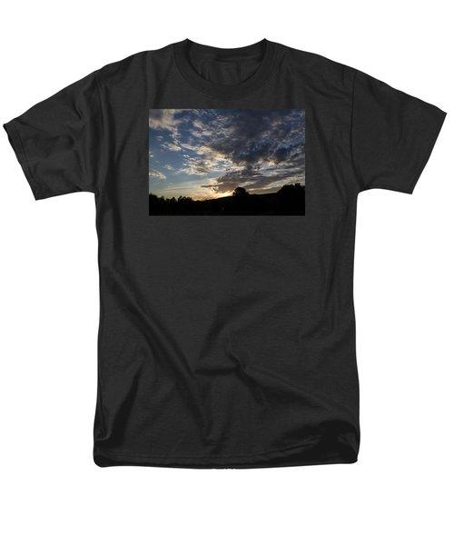Sunset On Hunton Lane #1 Men's T-Shirt  (Regular Fit) by Carlee Ojeda