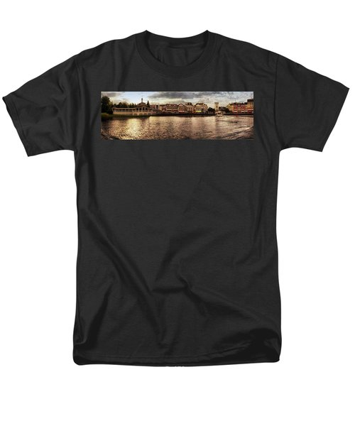 Sunset On The Boardwalk Walt Disney World Mp Men's T-Shirt  (Regular Fit) by Thomas Woolworth