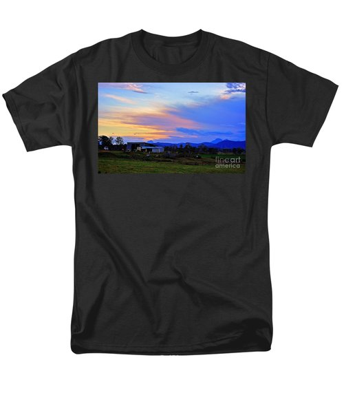 Sunset Over The Great Divide Men's T-Shirt  (Regular Fit) by Blair Stuart