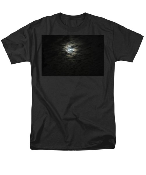 Men's T-Shirt  (Regular Fit) featuring the photograph super moon II by Irma BACKELANT GALLERIES