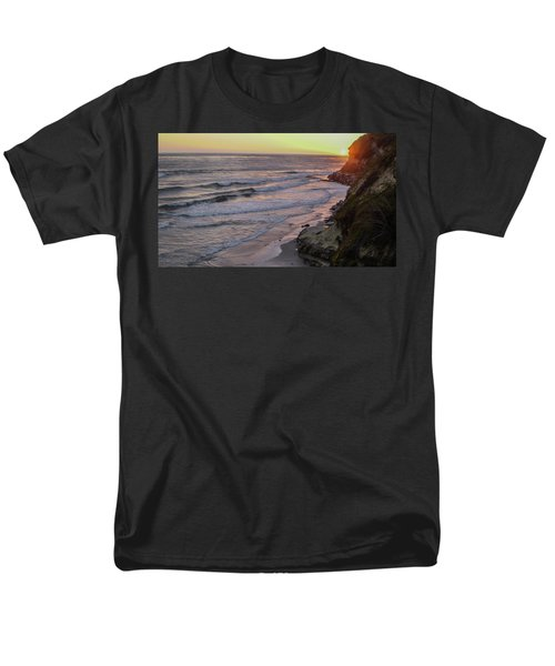 Swamis Sunset Men's T-Shirt  (Regular Fit) by Mark Barclay