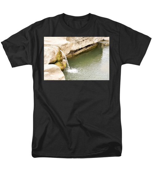 Men's T-Shirt  (Regular Fit) featuring the photograph Texas - Mckinney Falls State Park  by Ray Shrewsberry
