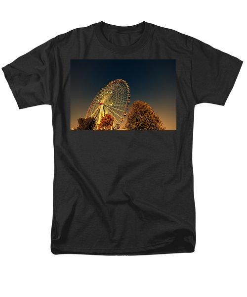 Texas Star Ferris Wheel Men's T-Shirt  (Regular Fit) by Douglas Barnard