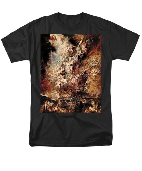 Men's T-Shirt  (Regular Fit) featuring the painting The Fall Of The Damned by Peter Paul Rubens