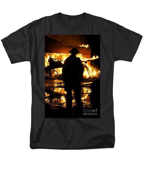 The Fireman Men's T-Shirt  (Regular Fit) by Benanne Stiens