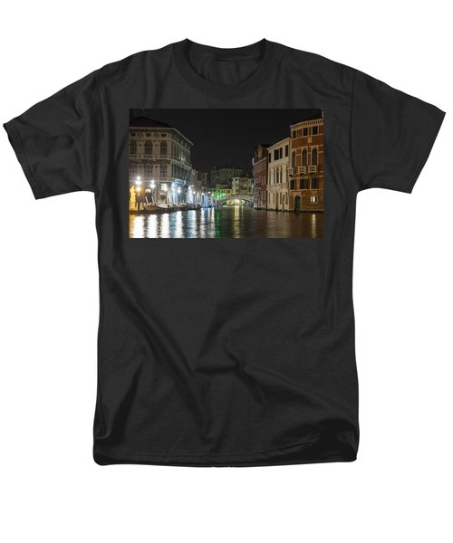 Men's T-Shirt  (Regular Fit) featuring the photograph Romantic Venice  by Silvia Bruno