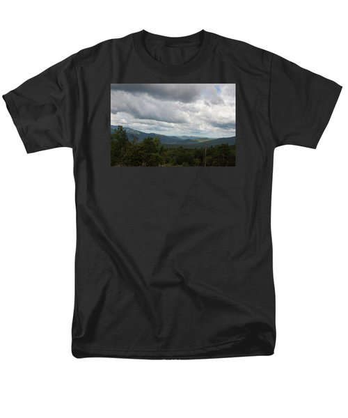 View From Mount Washington Men's T-Shirt  (Regular Fit) by Suzanne Gaff