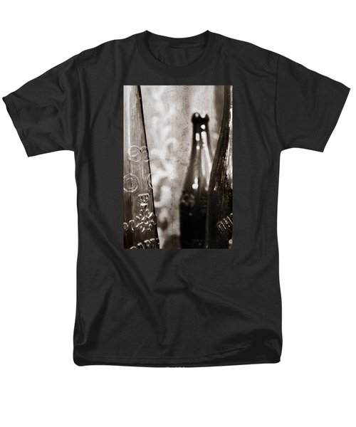 Men's T-Shirt  (Regular Fit) featuring the photograph Vintage Beer Bottles. by Andrey  Godyaykin
