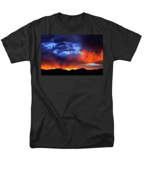 Wasatch Sunrise Men's T-Shirt  (Regular Fit) by Paul Marto