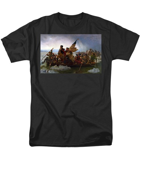 Washington Crossing The Delaware Men's T-Shirt  (Regular Fit)