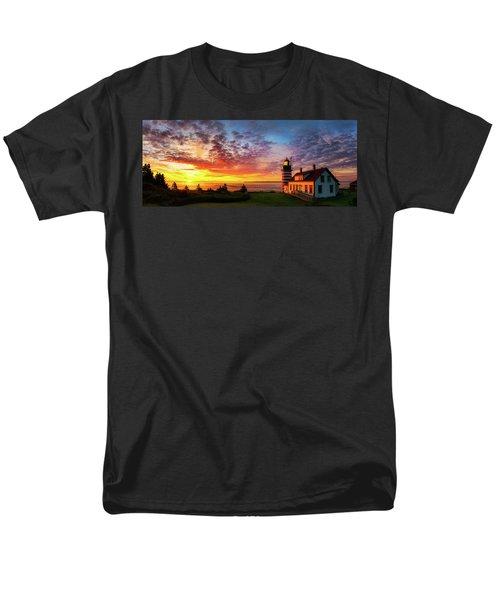 West Quoddy Head Light Men's T-Shirt  (Regular Fit) by Robert Clifford