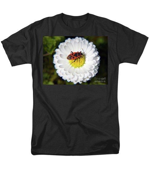 Men's T-Shirt  (Regular Fit) featuring the photograph White Flower by Elvira Ladocki