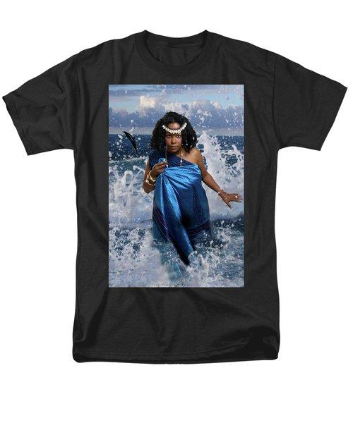 Yemaya Men's T-Shirt  (Regular Fit) by David Clanton