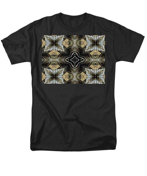 Zebra V Men's T-Shirt  (Regular Fit) by Maria Watt