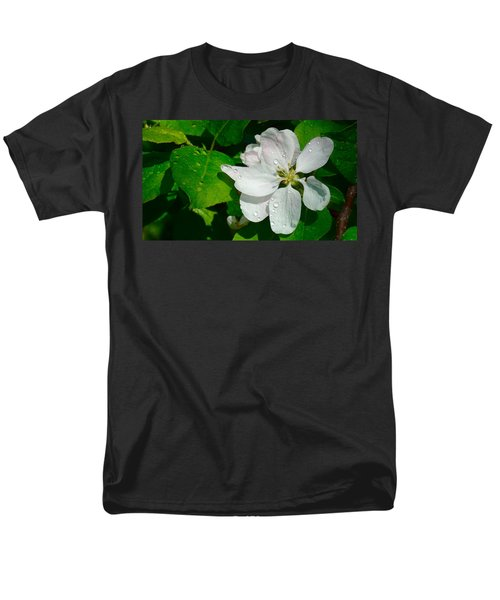 Men's T-Shirt  (Regular Fit) featuring the painting Apple Blossoms by Johanna Bruwer