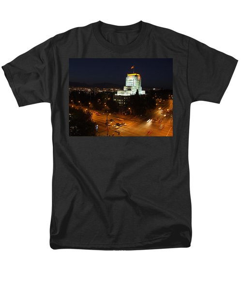 Men's T-Shirt  (Regular Fit) featuring the photograph 12th And Cambie 1 by Mark Alan Perry