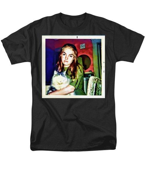 15 Past 10, July 1972 Men's T-Shirt  (Regular Fit) by Susan Lafleur