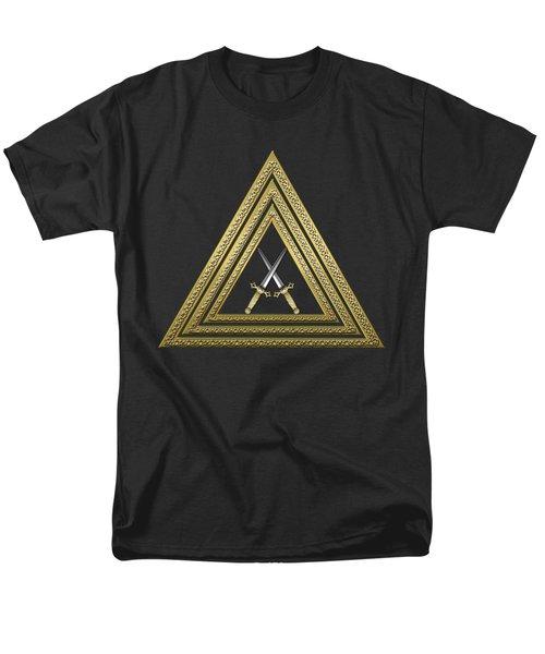 15th Degree Mason - Knight Of The East Masonic Jewel  Men's T-Shirt  (Regular Fit) by Serge Averbukh
