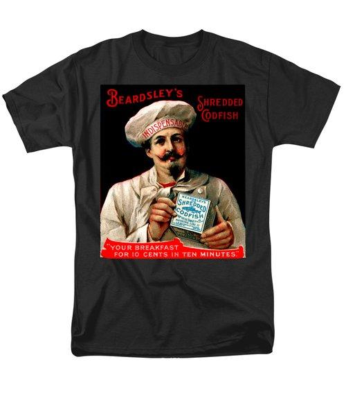 1895 Shredded Codfish Breakfast Men's T-Shirt  (Regular Fit) by Historic Image