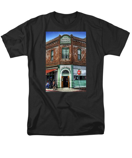 1898 Hotel Connor - Jerome Arizona Men's T-Shirt  (Regular Fit) by Saija  Lehtonen