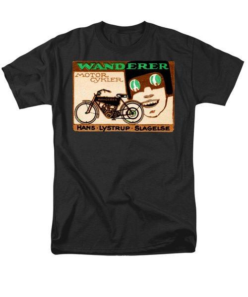 1910 Wanderer Motorcycle Men's T-Shirt  (Regular Fit) by Historic Image