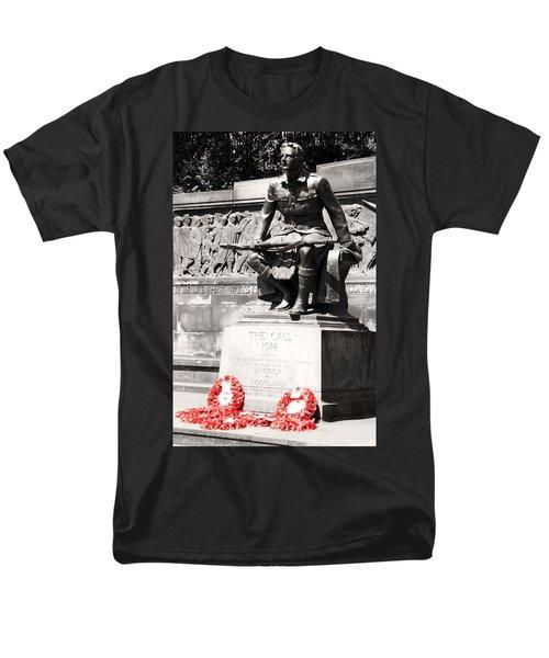 1914 The Call Men's T-Shirt  (Regular Fit) by Martina Fagan