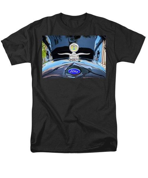 1929 Ford Model A Hood Ornament  Men's T-Shirt  (Regular Fit) by Rich Franco