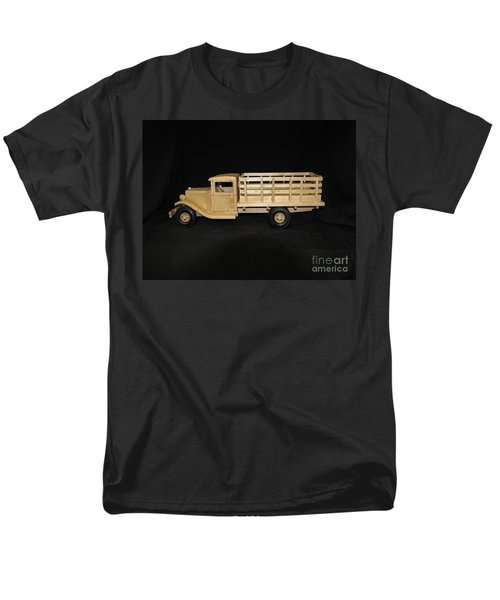 1929 Stake Bed Truck Men's T-Shirt  (Regular Fit) by Marilyn Carlyle Greiner