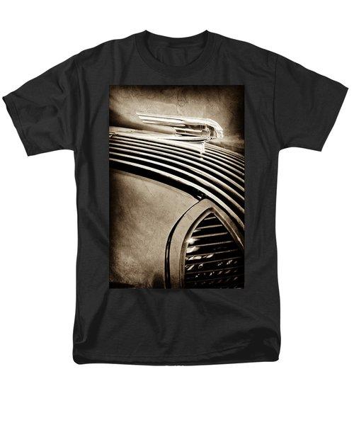 Men's T-Shirt  (Regular Fit) featuring the photograph 1936 Pontiac Hood Ornament -1140s by Jill Reger