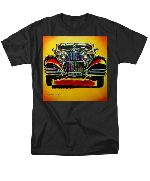 1937 Mercedes Benz First Wheel Down Men's T-Shirt  (Regular Fit) by Eric Dee