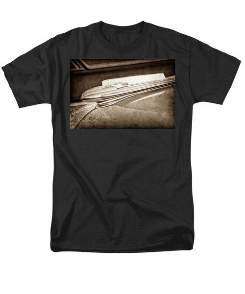 Men's T-Shirt  (Regular Fit) featuring the photograph 1948 Chevrolet Hood Ornament -0587s by Jill Reger