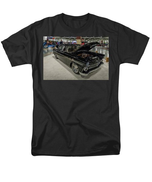 Men's T-Shirt  (Regular Fit) featuring the photograph 1955 Ford Customline by Randy Scherkenbach