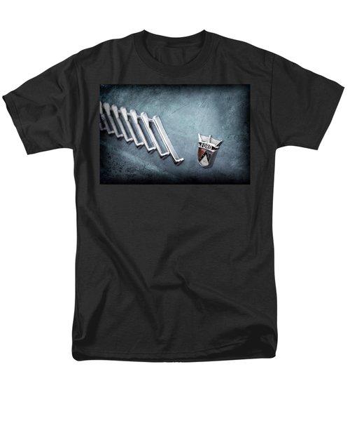 Men's T-Shirt  (Regular Fit) featuring the photograph 1956 Ford Thunderbird Emblem -0052ac by Jill Reger