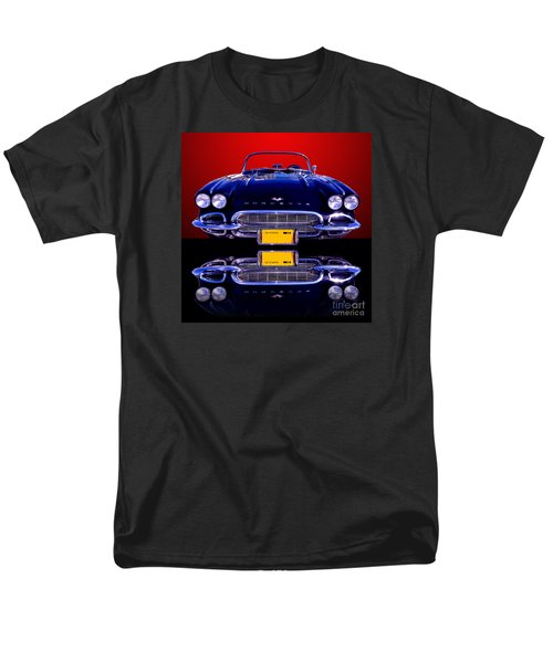 1961 Chevy Corvette Men's T-Shirt  (Regular Fit) by Jim Carrell
