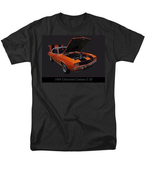 1969 Chevy Camaro Z28 Men's T-Shirt  (Regular Fit) by Chris Flees