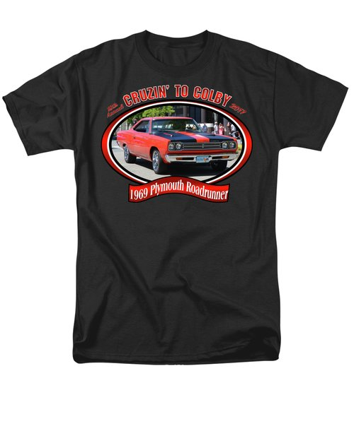 1969 Plymouth Roadrunner Masanda Men's T-Shirt  (Regular Fit) by Mobile Event Photo Car Show Photography