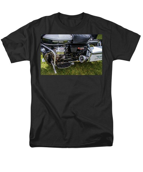 1976 Motto Guzzi V1000 Convert Men's T-Shirt  (Regular Fit) by Roger Mullenhour