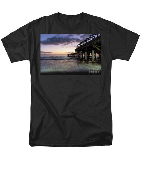 1st Dawn Cocoa Pier Men's T-Shirt  (Regular Fit) by Jennifer White