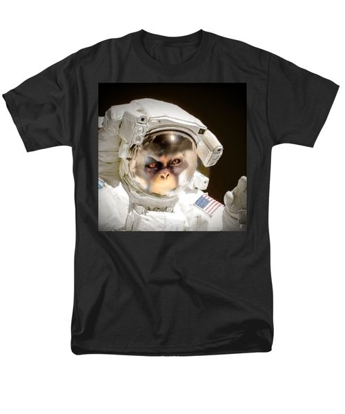 1st Into Space  Men's T-Shirt  (Regular Fit) by Scott French