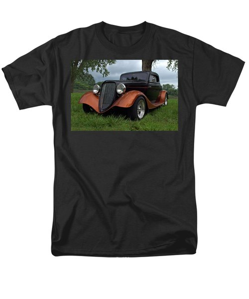 1934 Ford Hot Rod Coupe Men's T-Shirt  (Regular Fit) by Tim McCullough