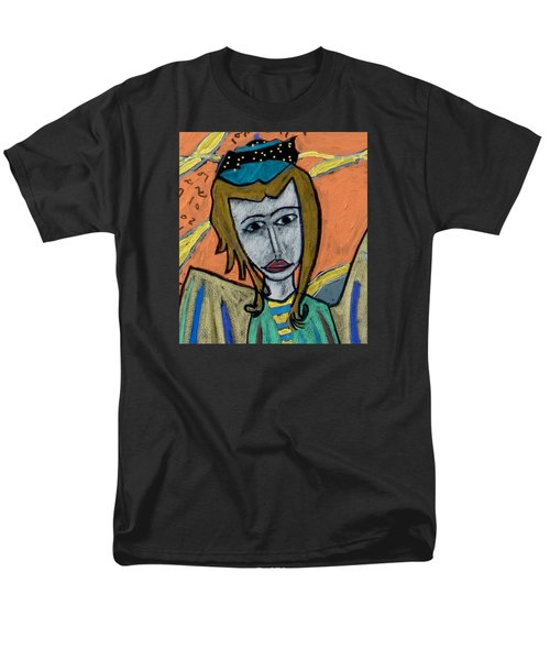 Archangel Uriel Men's T-Shirt  (Regular Fit) by Clarity Artists