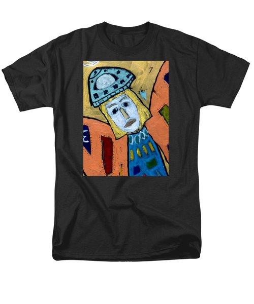 Archangel Zadkiel Men's T-Shirt  (Regular Fit) by Clarity Artists