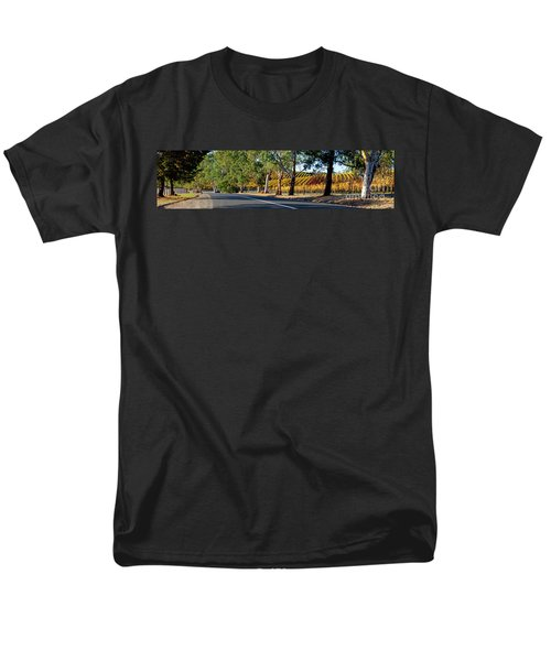 Men's T-Shirt  (Regular Fit) featuring the photograph Autumn Vines by Bill Robinson