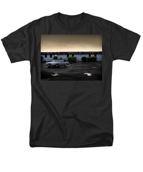 Blue Motel Men's T-Shirt  (Regular Fit) by John Hansen
