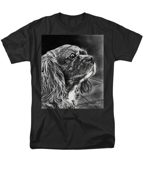 Cavalier II Men's T-Shirt  (Regular Fit) by Terri Mills